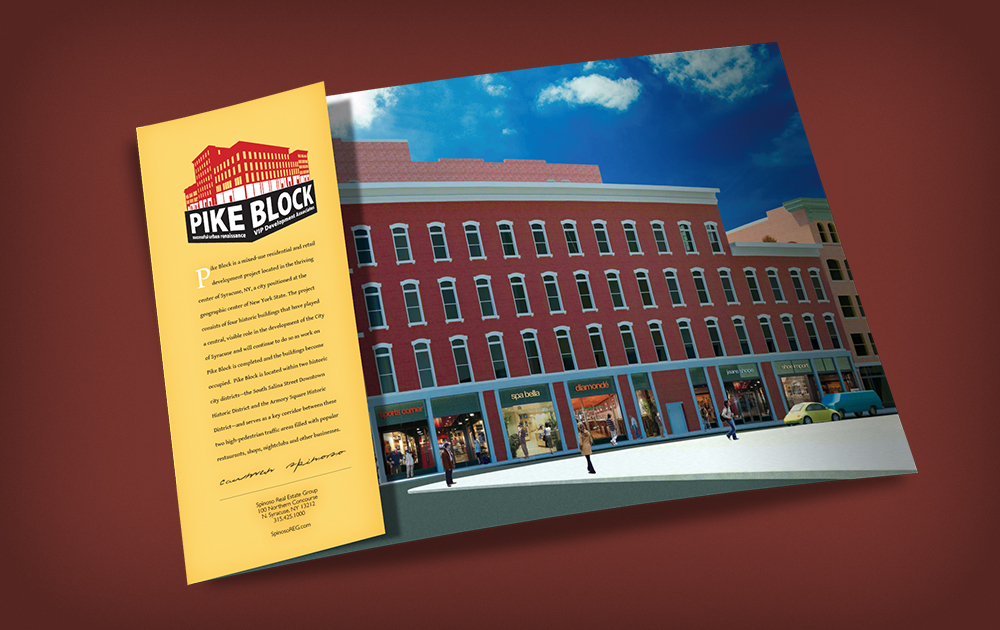 Pike Block of Syracuse Marketing Book