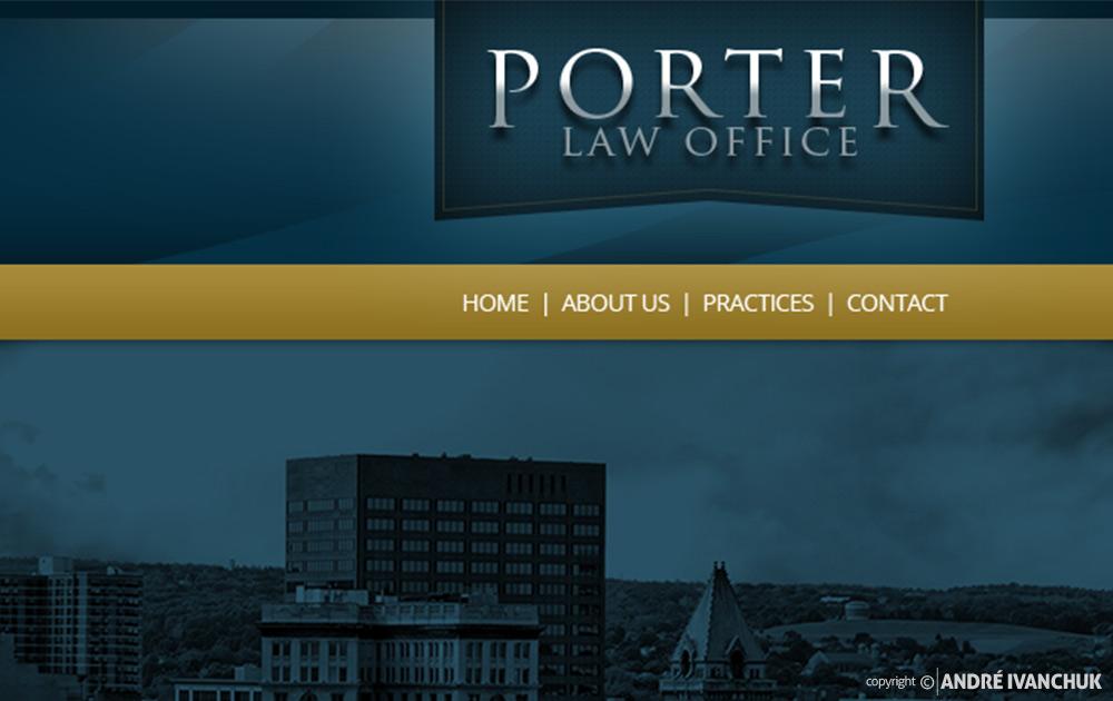 Porter Law Website Design