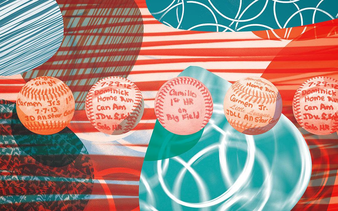 Spinoso Baseball Painting