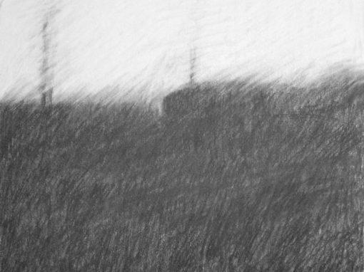 Stormy Landscape Study