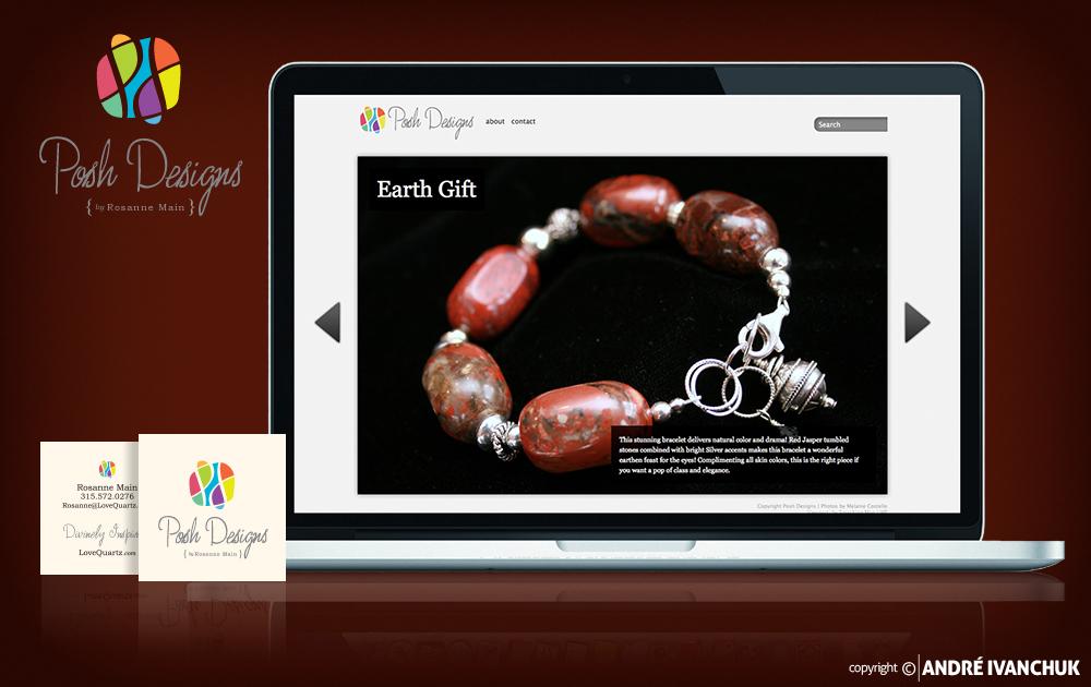 posh designs branding package