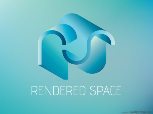 Rendered Space Branding Design