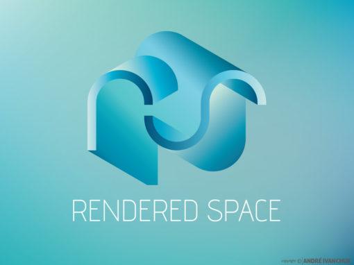 Rendered Space Branding Design