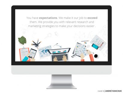 RMS Research Marketing Strategies Website
