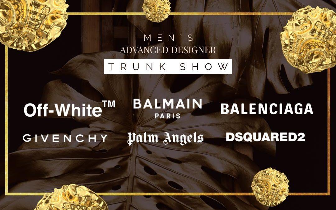 Saks Fifth Avenue Men's Advanced Designer Trunk Show