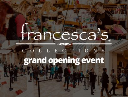 Francesca's Collections - Grand Opening Graphics