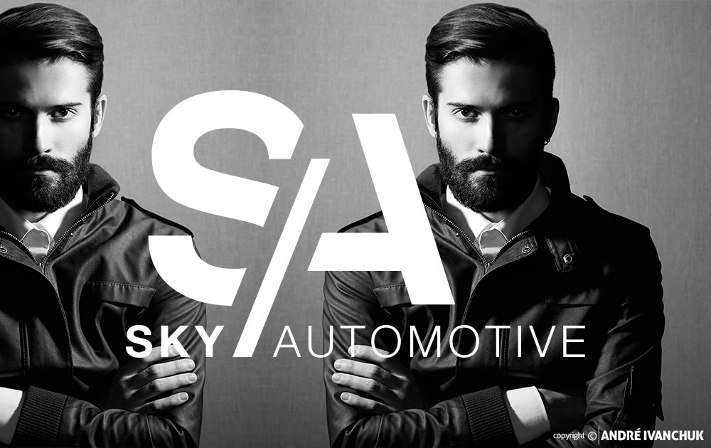 Sky Automotive Logo Design