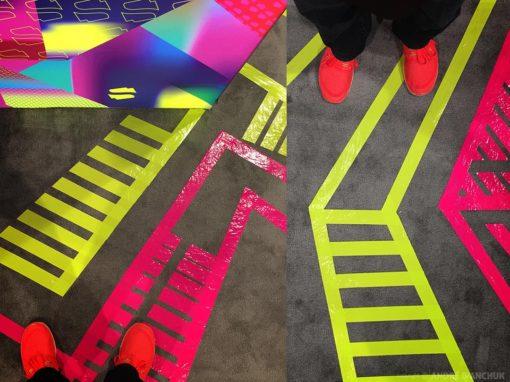 ICSC SPREE Floor Art Design