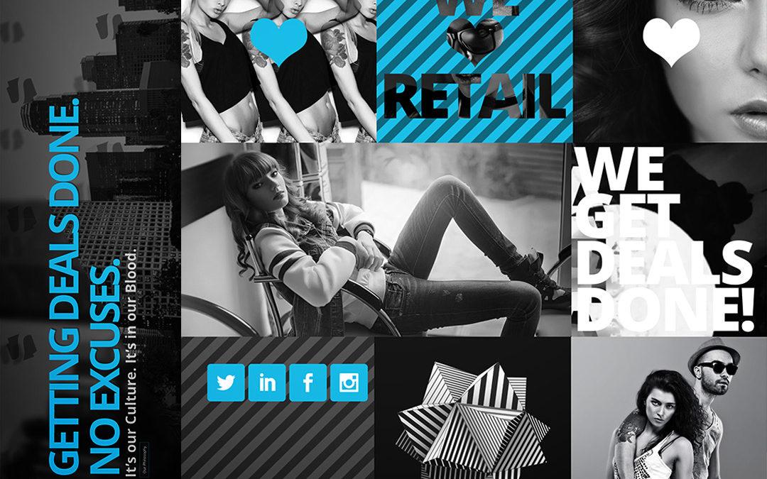 SREG Corporate Website Design 2017