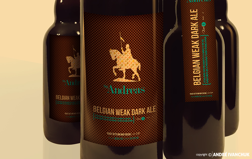 St Andreas Brewing Branding