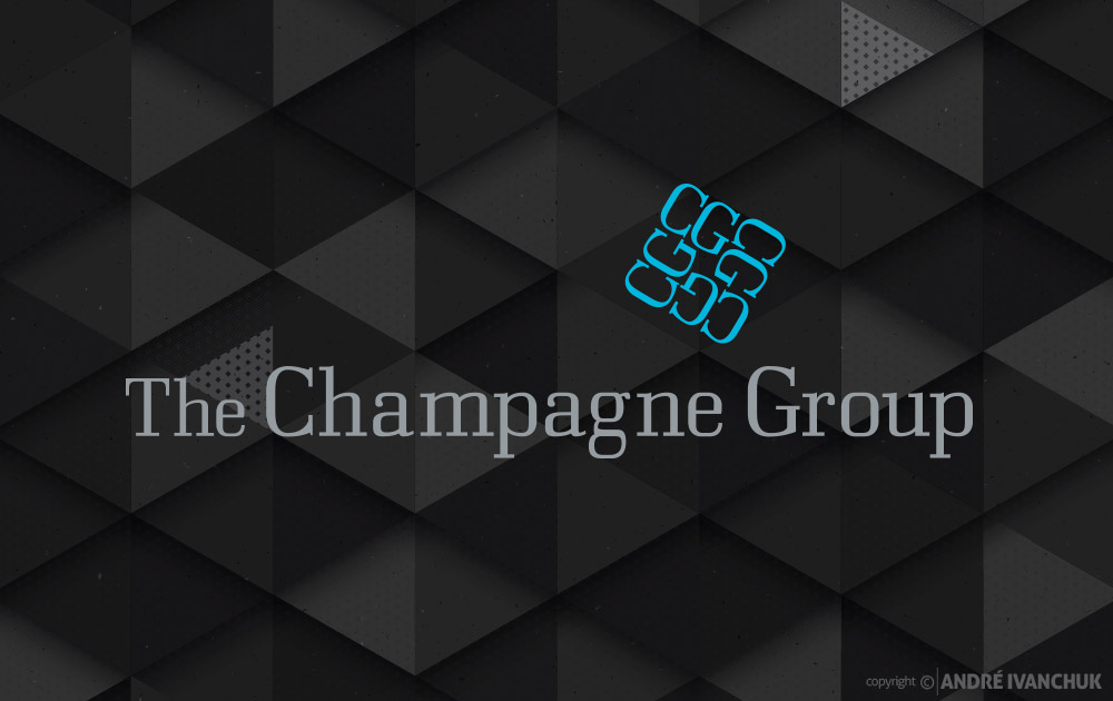 The Champagne Group Logo Design