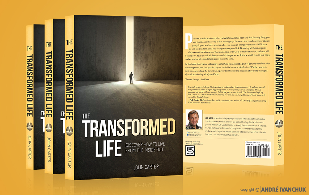 the transformed life john carter book cover