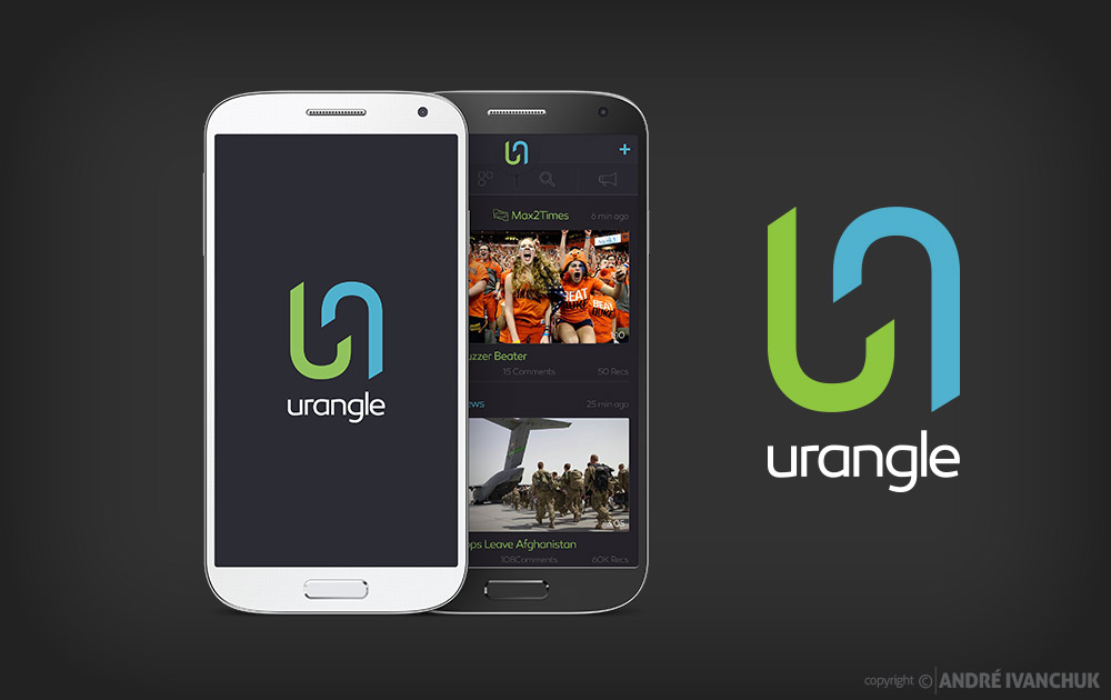 Urangle User Interface Design & Branding