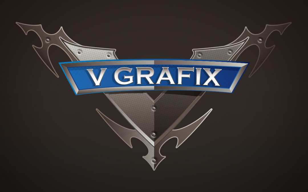 v grafix logo design