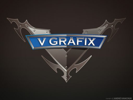 v grafix logo design